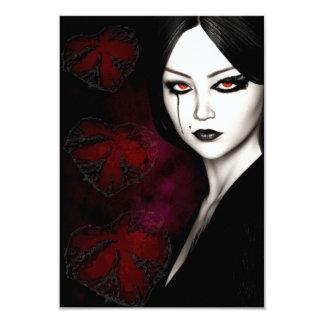Cartão Asiático gótico