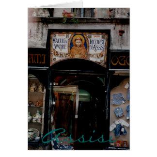 Cartão Assisi Úmbria