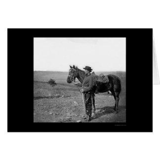 Cartão Assistente hospitalar da cavalaria em Antietan