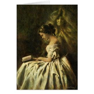 Cartão Assombro do Victorian