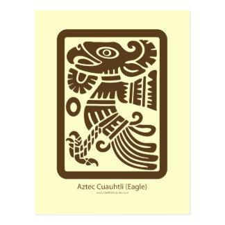 Cartão asteca de Cuauhtli - de Eagle (Brown)