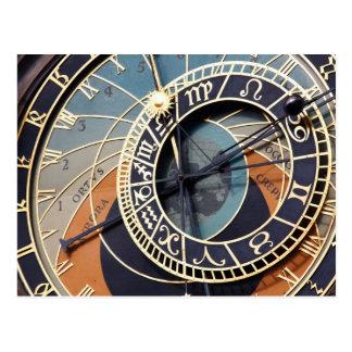 cartão astronômico do pulso de disparo de Praga