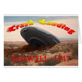 Cartão Aterragem de impacto de Roswell