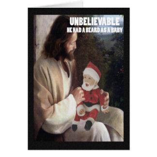 Cartão Ateu muito ofensivo