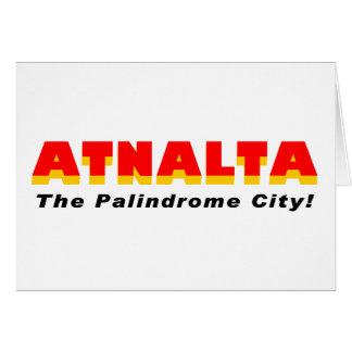 Cartão Atnalta: A cidade do Palindrome