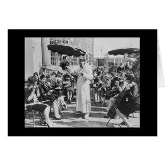 Cartão Ator Lon Chaney como o Sr. Wu com banda 1927 das