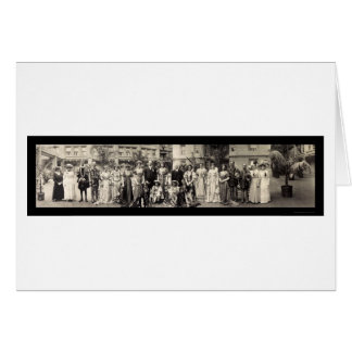 Cartão Atores & foto 1911 das atrizes