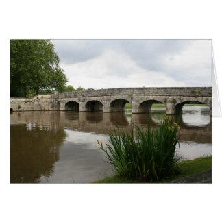 Cartão Através da ponte