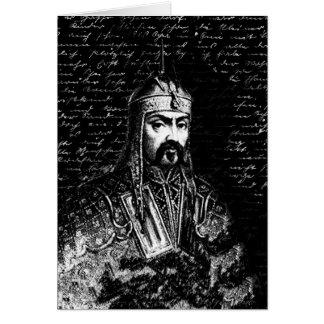 Cartão Attila o huno