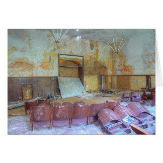 Cartão Auditório 01,0, lugares perdidos, Beelitz