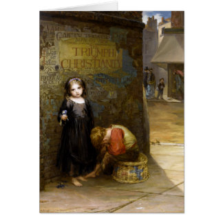 Cartão Augustus Edwin Mulready: Uncared-Para