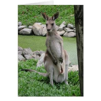 Cartão Austrália Beckons