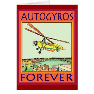 Cartão Autogiro para sempre