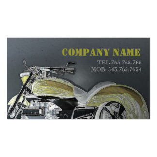 Cartão automotriz/motocicleta/bicicleta/piloto cartão de visita