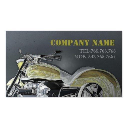 Cartão automotriz/motocicleta/bicicleta/piloto cartões de visitas