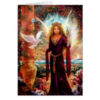 Cartão Avalon pela íris de Lisa
