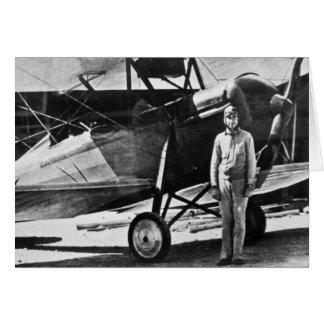 Cartão Aviador legendário Merle Fogg