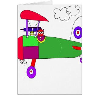 Cartão avião 300dpi