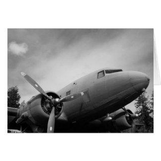 Cartão Avião de WWII