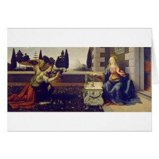Cartão Aviso por Leonardo da Vinci