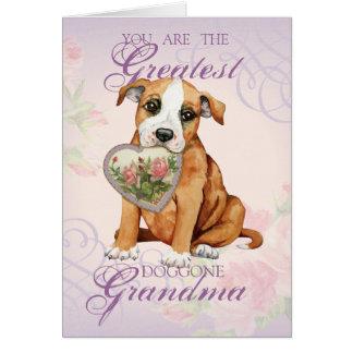 Cartão Avó do coração de Stafford