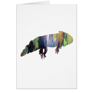 Cartão Axolotl