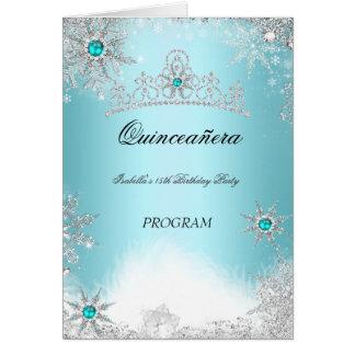 Cartão Azuis cobaltos do Aqua da cerceta do programa de