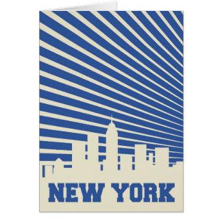 Cartão Azul da Nova Iorque