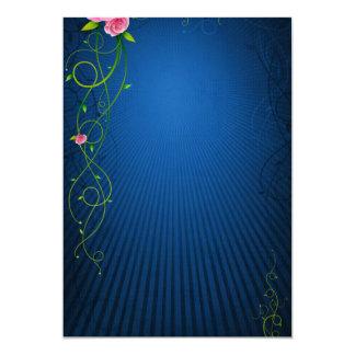 Cartão Azul quadro