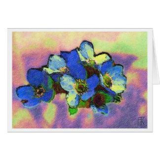 Cartão azzurri do fiori