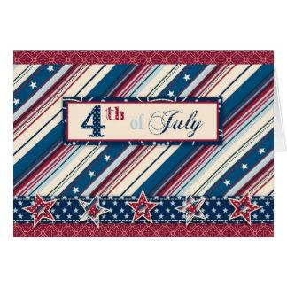 Cartão B da listra da liberdade
