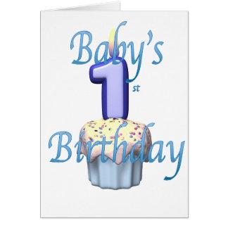 Cartão babysfirst.birthday
