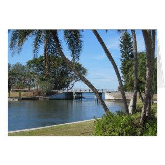 Cartão Bacia do iate, Bradenton, Florida