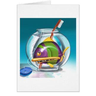 Cartão Bacia dos peixes