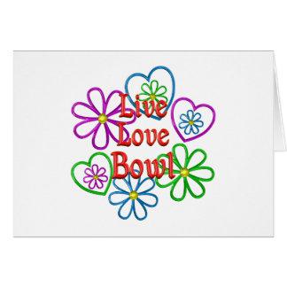 Cartão Bacia viva do amor