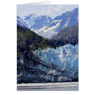 Cartão Baía de geleira, Alaska