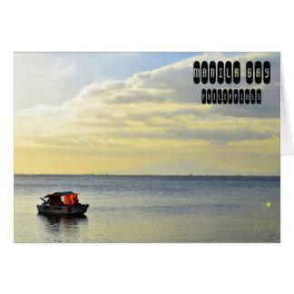Cartão Baía de Manila