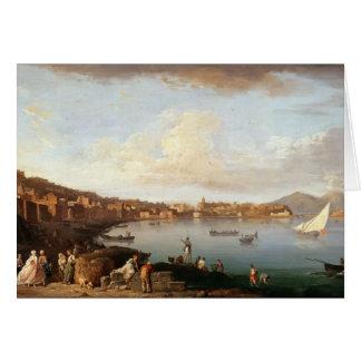 Cartão Baía de Nápoles do norte
