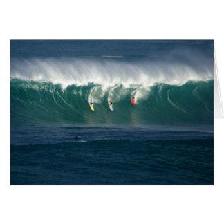 Cartão Baía Havaí de Waimea