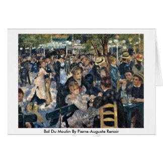 Cartão Bal Du Moulin Pierre-Auguste Renoir