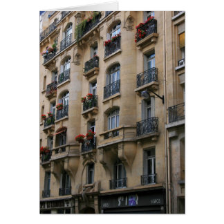 Cartão Balcões parisienses