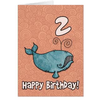 Cartão baleia do BD - 02
