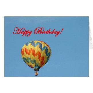Cartão Balões, feliz aniversario