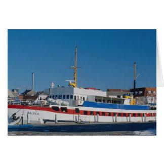 Cartão Balsa Báltico
