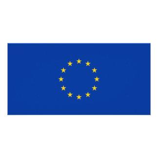 Cartão Bandeira da UE