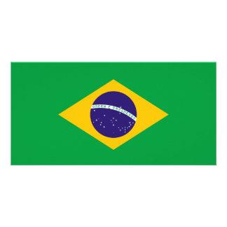 Cartão Bandeira de Brasil