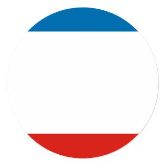 Cartão Bandeira de Crimeia