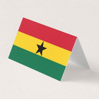 Cartão Bandeira de Ghana