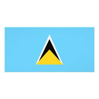 Cartão Bandeira de Lucia de santo