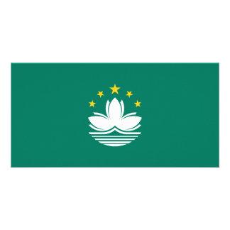 Cartão Bandeira de Macau